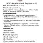 NEWLO Application & Registration