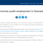Promote youth employment in Grenada
